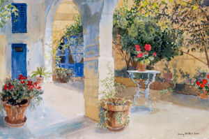 Dora's Loggia by Lucy Willis