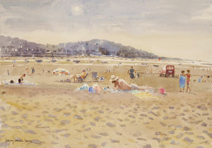 Evening at Instow by Lucy Willis