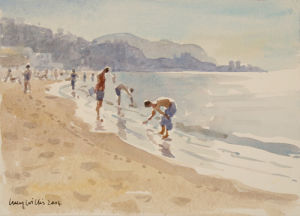 Evening by The Sea, Sicily by Lucy Willis