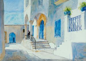 Sidi Bou Said by Lucy Willis