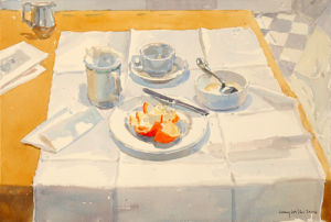 The Breakfast Table by Lucy Willis