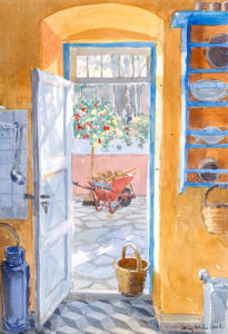 The Kitchen Door by Lucy Willis