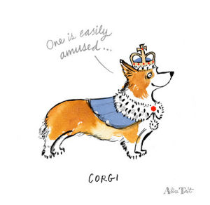 Corgi by Alice Tait