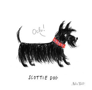 Scottie Dog by Alice Tait
