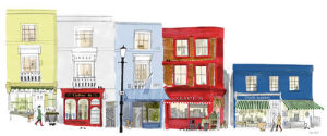 Portobello Road by Alice Tait