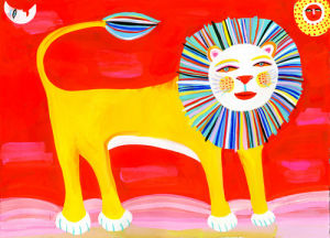 Lion Artwork by Christopher Corr