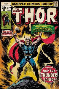Thor - Retro Comic by Marvel Comics