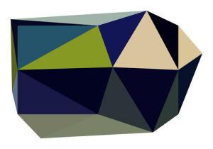 Triangulations No.2, 2013 by Henri Boissiere