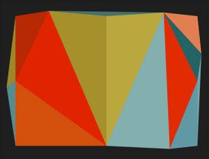 Triangulations No.5, 2013 by Henri Boissiere
