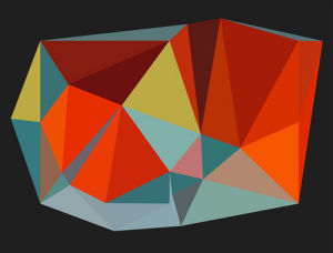 Triangulations No.6, 2013 by Henri Boissiere