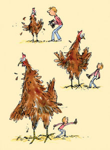 Roald Dahl - Georges Marvellous Medicine 2 by Quentin Blake
