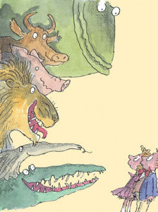 Roald Dahl - Dirty Beasts by Quentin Blake