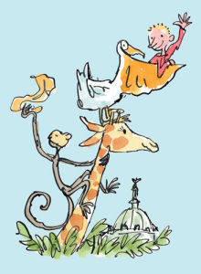 Roald Dahl - The Giraffe and the Pelly and Me by Quentin Blake