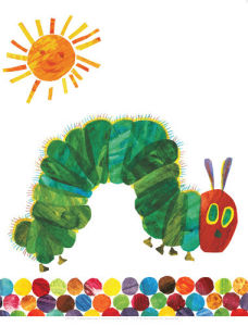 The Very Hungry Caterpillar 4 by Eric Carle