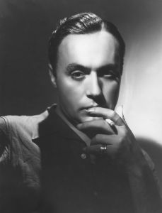 Charles Boyer, 1938 by Bob Coburn
