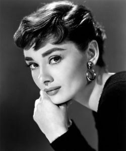 Audrey Hepburn, 1954 by Bud Fraker