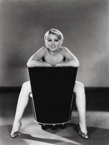 Joan Blondell, 1933 by Elmer Fryer