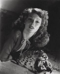 Rita Hayworth, 1943 by George Hurrell