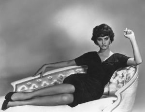 Sophia Loren, 1957 by Anonymous