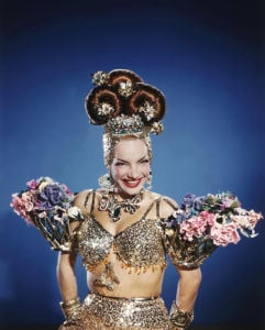 Carmen Miranda, 1947 by Anonymous