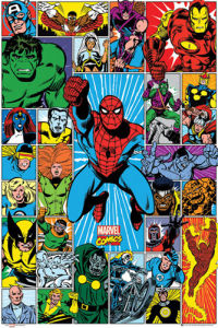 Marvel - Grid by Marvel Comics