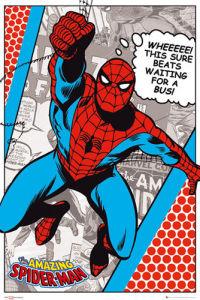 Spiderman - Bus by Marvel Comics