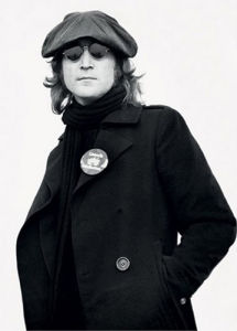 John Lennon - Button by Bob Gruen