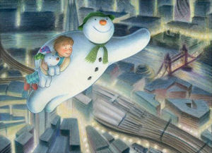 The Snowman and the Snowdog - Over London by Snowman Enterprises