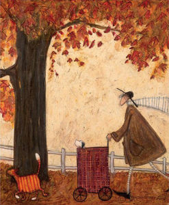 Following the Pumpkin by Sam Toft