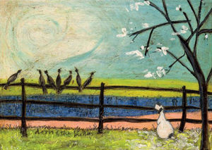 Doris and the Birdies by Sam Toft
