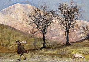 Walking with Mansfield by Sam Toft