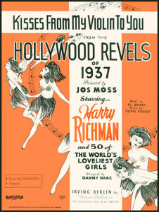 Kisses from My Violin to You (Hollywood Revels of 1937) by Anonymous