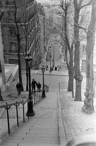 Steps near Montmartre, Paris by Anonymous