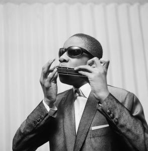 Stevie Wonder, aged 13 by Anonymous