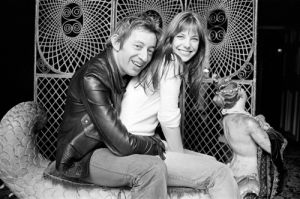 Jane Birkin and Serge Gainsbourg by Anonymous