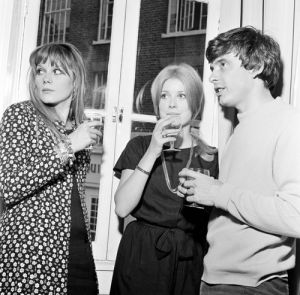 David Bailey and Catherine Deneuve by Anonymous