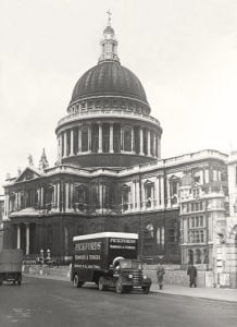 St Pauls and Pickfords by Anonymous