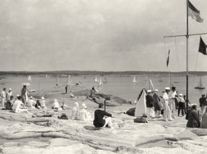 Dinghy Racing c.1930 by Anonymous