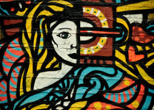 Lady Graffiti by Keri Bevan
