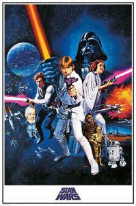 Star Wars - A New Hope by Cinema Greats