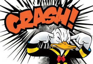 Donald Duck - Crash by Disney