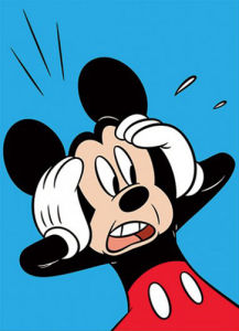 Mickey Mouse - Shocked by Disney