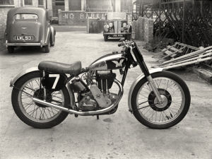 1948 Matchless scrambler by Anonymous