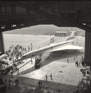 Concorde roll out 2 by Anonymous