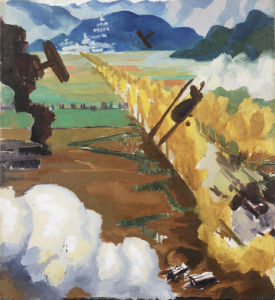 Sopwith Camel Patrol by Sydney W Carline