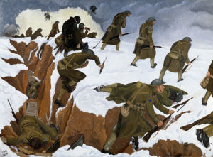 Over The Top, 1917 by John Nash