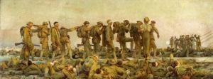 Gassed by John Singer Sargent