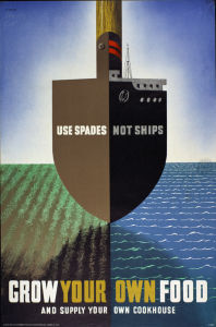 Use Spades Not Ships by Abram Games