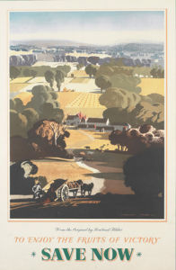 To Enjoy the Fruits of Victory - Save Now by Rowland Hilder
