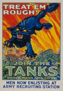 Treat 'Em Rough - Join the Tanks by August William Hutaf